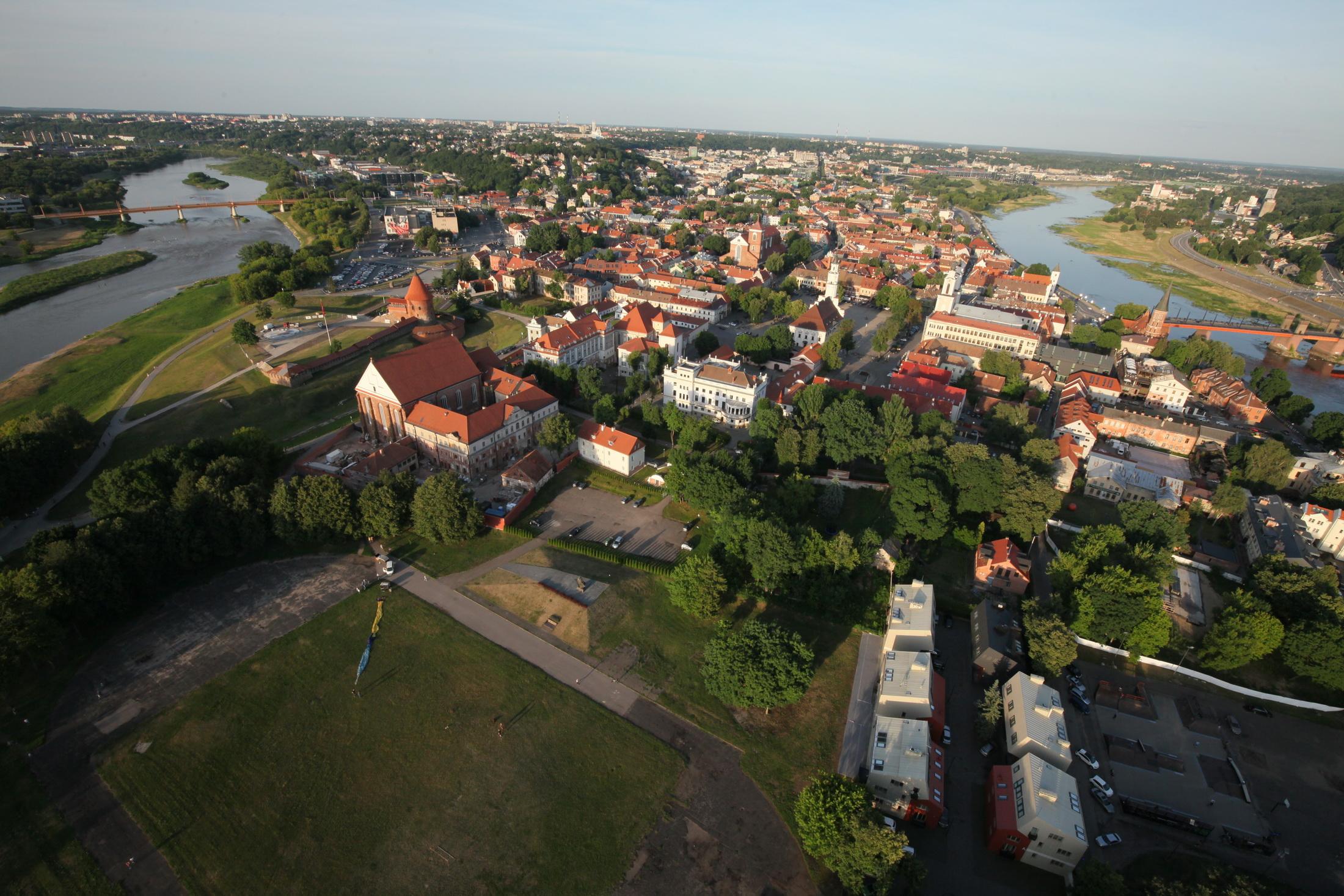 Kauno start vieta